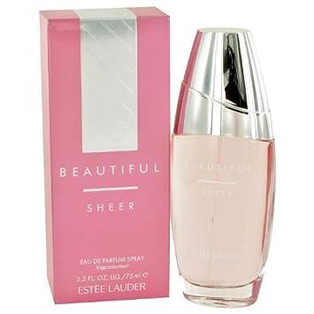Beautiful Sheer by Estee Lauder for Women 2.5 oz EDP Spray