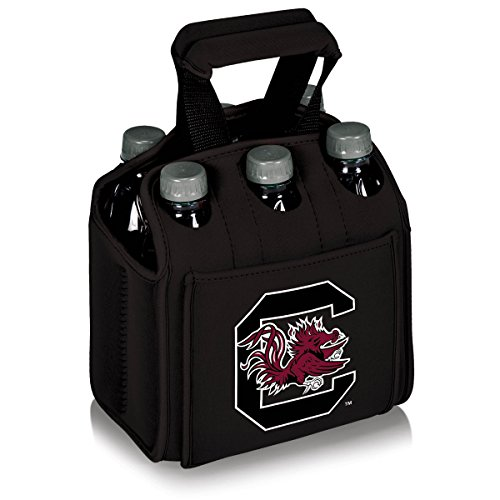 NCAA South Carolina Fighting Gamecocks Six Pack Cooler Tote by PICNIC TIME