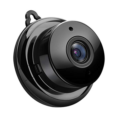 Mini Wireless Spy Hidden Camera,Atdnedy HD 960p Nanny Cam,Small WiFi Security Camera with Two-Way Audio,Night Vision and Motion Detection for Home Office.