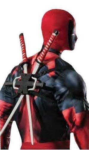 Fancy Me Hombre niño Marvel Oficial Deadpool Doble Ninja ...