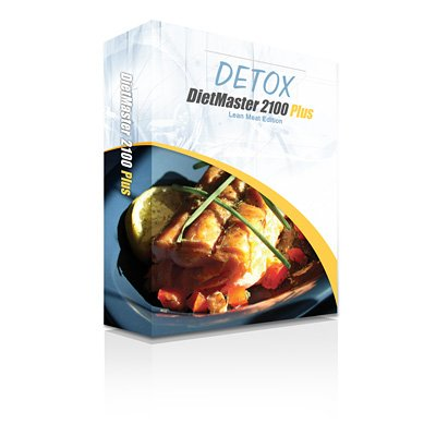 DietMaster 2100 Plus Nutrition Software - DETOX Lean Meat Edition Diet Software, Awarded 2013 Best Diet Software - Top Ten Reviews