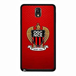Samsung Galaxy Note 3 Phone Skin,Hard Funda,Hard Olympique Gymnaste Club De Nice-C?te D'Azur Samsung Galaxy Note 3 Back Funda