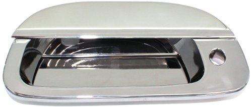 [All Sales 503CL Chrome Billet Aluminum Tailgate Handle Assembly] (Aluminum Tailgate Handles)
