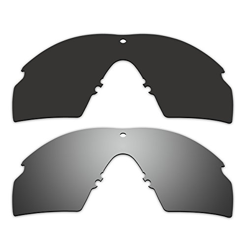 2 Pair ACOMPATIBLE Replacement Polarized Lenses for Oakley Industrial M Frame 2.0 Sunglasses OO9213 Pack - Oakley 2 Polarized Frame M Sunglasses