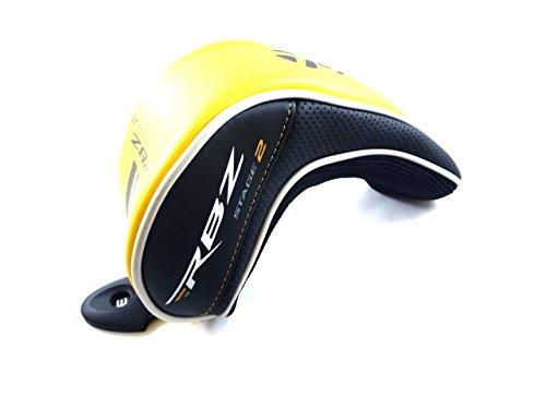 Logo Hybrid Golf Headcover (NEW TaylorMade RBZ Rocketballz Stage 2 Black/Yellow Hybrid Headcover)