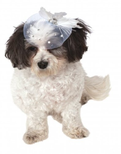 Hat Pet Costume - Rubie's Fancy Hat Pet Accessory, Small/Medium