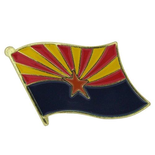Arizona Flag Lapel Pin - 10 PK