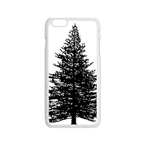 The Black Tree Hight Quality Plastic Case for Iphone 6