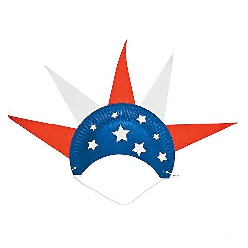 - Paper Plate Patriotic Hat Craft Kit
