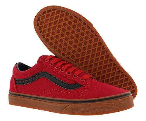 Red Old Old Unisex Classic Shoes Skate Black Black Red Classic Vans Skate Skool Unisex Vans Skool Vans Shoes qanpAt0x