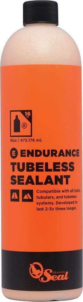 Orange Seal Cycling Endurance Tubeless Tire Sealant Refill, 16 oz (Pack of 1)