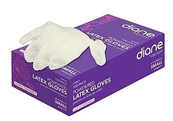 Amazon.com : Diane Latex Powder Glove, Small, 100 Count : Hair ...