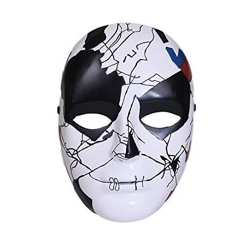 Jigsaw Mask for Mens Halloween Cosplay Season 2]()