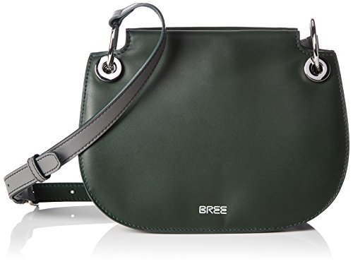 Bree Cordoba 6 Borsa a tracolla pelle 22 cm Mehrfarbig (D Grey Green L Grey)