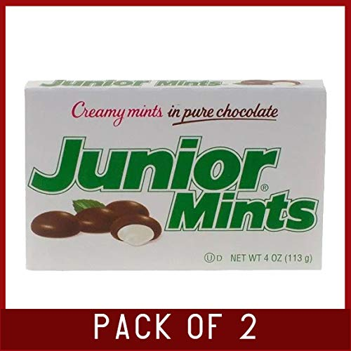 Junior Mints Creamy Mints in Pure Chocolate - 12 boxes, 4 oz each (Pack of 2) by Dealmor (Image #2)