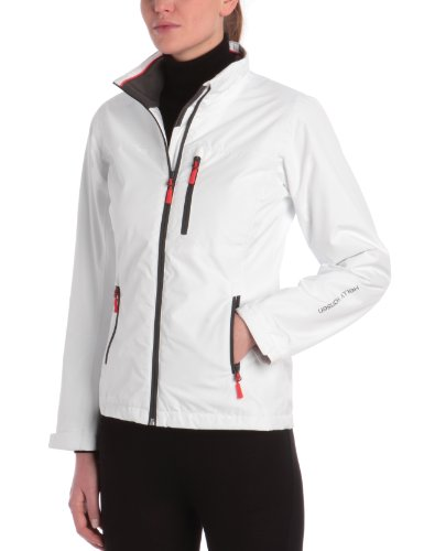 Helly Hansen Women's Crew Midlayer Jacket, White, Medium