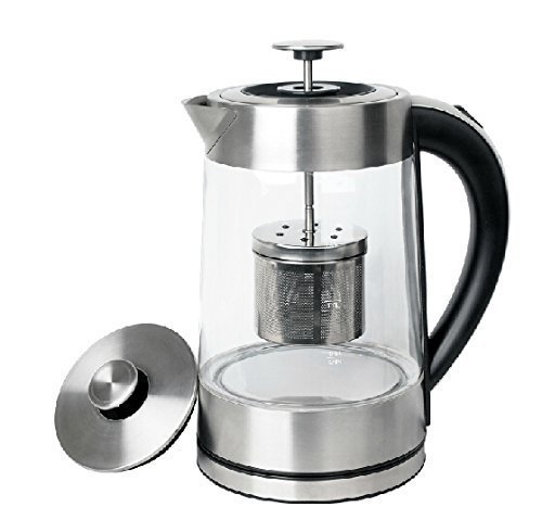 Electric Coffee Maker Parts : SMAL WK-0815T Tea Maker and Electric Kettle with Tea Filter - Import It All