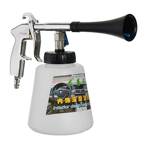 Hot White Car Tornador Car Surface Cleaning Washing Air Pulse Spray Tool Gun