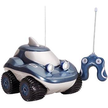 kid galaxy amphibious rc car morphibians shark remote control toy 49 mhz