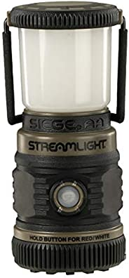 "Streamlight 44931 Siege Compact, Cordless, 7.25"" Alkaline Hand Lantern - Coyote - 540 L"