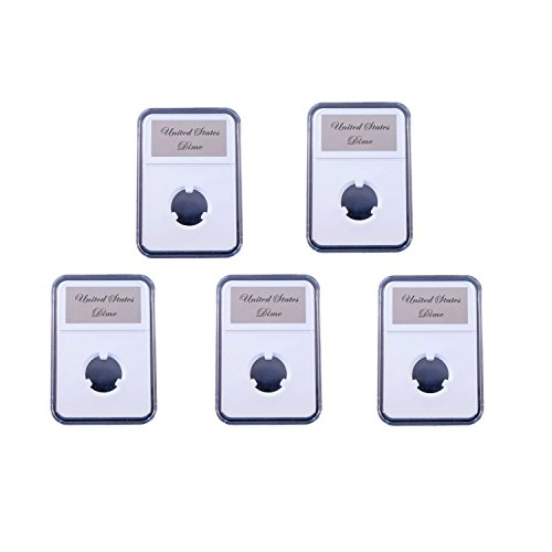 5 Pak Little Bear Elite Certified-Style Coin Holder for US Mercury Dime