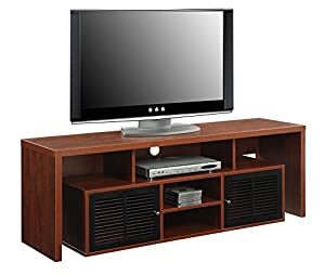 Captivating Convenience Concepts Designs2Go Modern Lexington 60 Inch TV Stand, Cherry Pictures Gallery