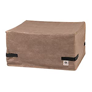 13. Duck Covers Elite Square Fire Pit Cover, 50-Inch