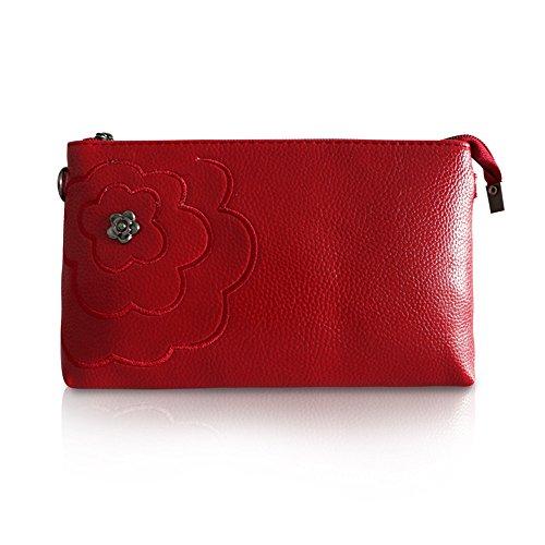GWQGZ Bolso De Señora, Nuevo Estilo, Moda, Mini Bag Simple, Azul Gules