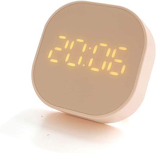 Temporizador Despertador, Reloj Digital LED Portátil, Reloj de 12 ...