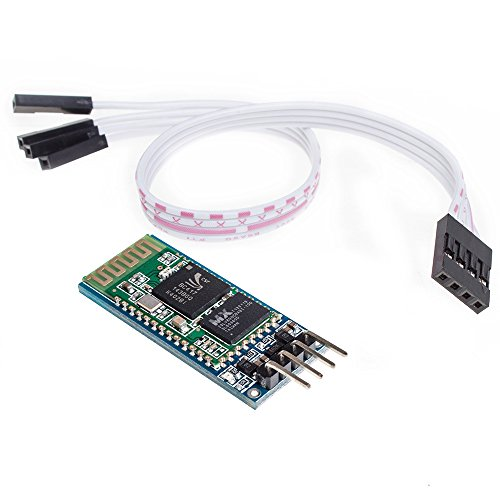 Price comparison product image KEDSUM Arduino HC-06 Serial Bluetooth Slave Wireless RF Transceiver Module 4 Pin with DuPont Cable