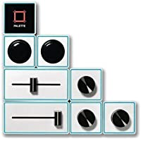 Palette Aluminum Expert Control Surface Kit, Includes Core Module Add-On, 3x Dial Module Add-On, 2x Slider Module Add-On, 2x Button Module Add-On