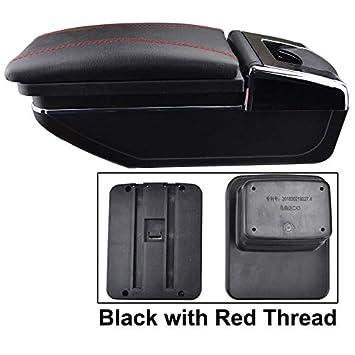 Rotatable Armrest For CX-3 2015-2018 Black Thread Storage Box Arm Rest