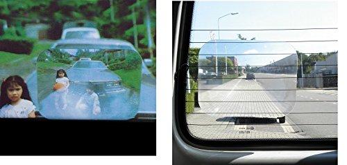 Lentille Loupe GRAND ANGLE pour lunette arri/ère Auto Voiture Bus