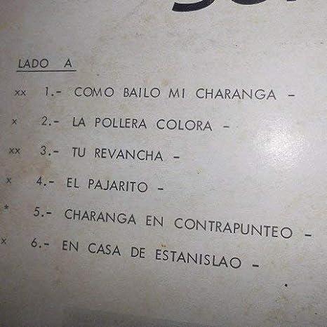 Nelson Pulido, Pepe Acosta, Valladares, Choperena, Guerra, Harrison, Rodriguez, Pompeyo, Contreras, Grande - Como Bailo Mi Charanga, Orquesta Sonoramica.