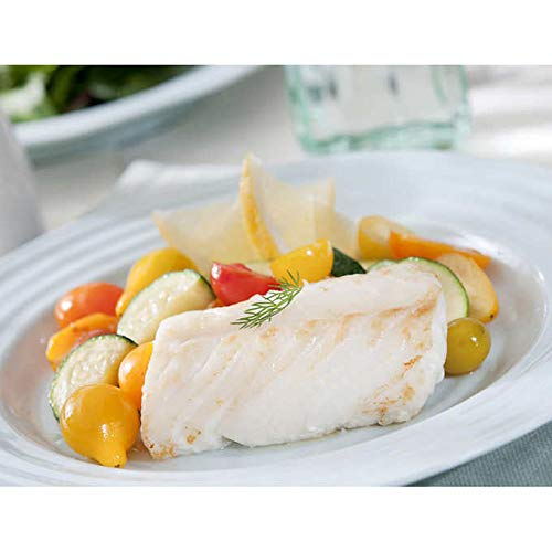 Wild Alaskan Cod Loins, 10 lbs Fresh Fish Frozen 5-8 oz. Portions Individually & Vacuum Packaged