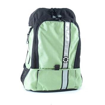 23cb766a3ef Amazon.com   Dadgear Retro Stripe Backpack (Sage) - TinyRide.com   Baby  Strollers   Baby