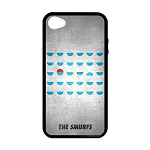 [Accessory] iPhone 4 Case, [The Smurfs] iPhone 4,4s Case Custom Durable Case Cover for iPhone4s TPU case (Laser Technology) by runtopwell