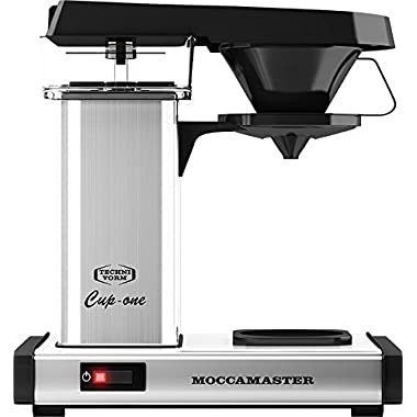 Technivorm Moccamaster Cup One Polished Silver Coffeemaker