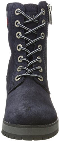 Midnight Gris Bottes Hilfiger A1285licia Chukka Tommy 1b Femme wTPZWq