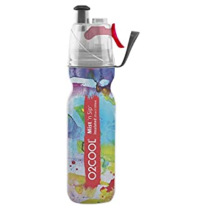 O2COOL ArcticSqueeze Insulated Mist 'N Sip Squeeze Bottle 20 oz.