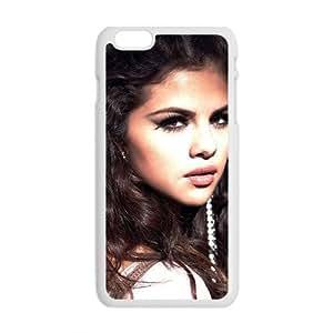 Selena Gomez Pattern Plastic Case For Iphone 6 Plus