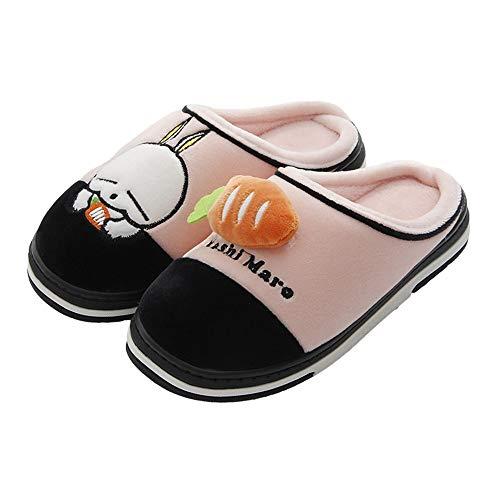 Chiaro Cartoon Cotone,cute Antiscivolo Paio Ciabatte,pantofole In Di Casa Fondo Rosa Da Morbido Xiu Donna qwCpOwX