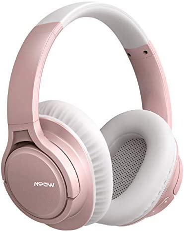 Mpow H7 Pro Bluetooth Headphones, Wireless Headphones Over Ear with Rapid Charge, Bluetooth 5.0, CVC 6.0 Mic, HiFi Stereo Wired and Wireless Headsets for Kids, Adults, Online Class, Home Office
