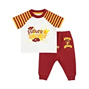 Harry Potter Baby Boys' Gryffindor Top & Joggers Set Size 0-3M