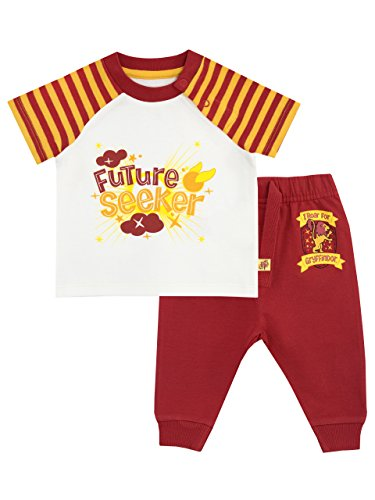 HARRY POTTER Baby Boys' Gryffindor Top & Joggers Set Size 12-18M ()