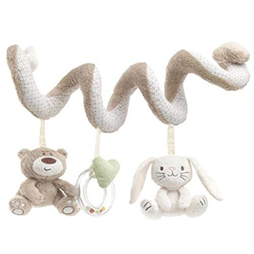 Stimulating Activities - UNKE Baby Kids Cot Spiral Activity Room Hanging Decoration Animal Stroller Toys