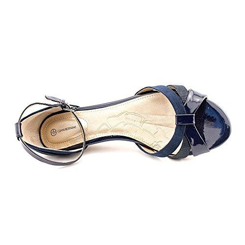 Giani Bernini - Sandalias de vestir para mujer azul oscuro