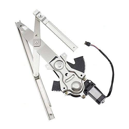 Drivers Front Power Window Lift Regulator with Motor Assembly Replacement for Chevrolet Cavalier Pontiac Sunfire Sedan 15218051 AutoAndArt ()