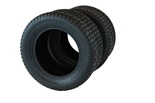 Set of Two 22x9.50-12 4 Ply Turf Tires for Lawn & Garden Mower (2) 22x9.5-12 by Antego