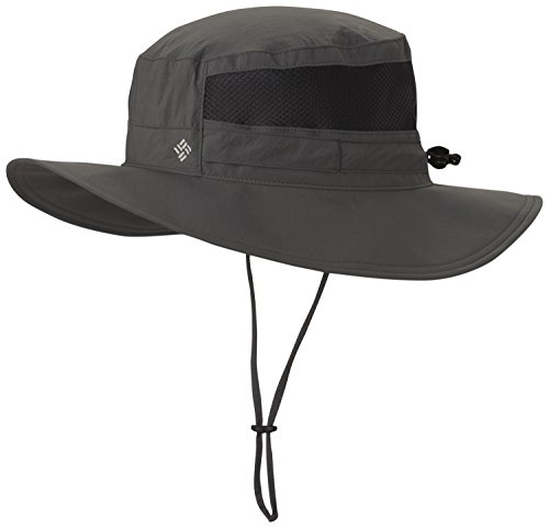 Columbia Unisex Bora Bora II Booney Hat, Moisture Wicking Fabric, UV Sun Protection, Grill, One -